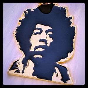 Other - Hip Hop Gold Plated Jimi Pendant